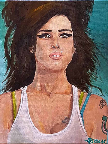 Personalized painting celebrity, singer, star