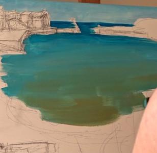Seconde couche peinture