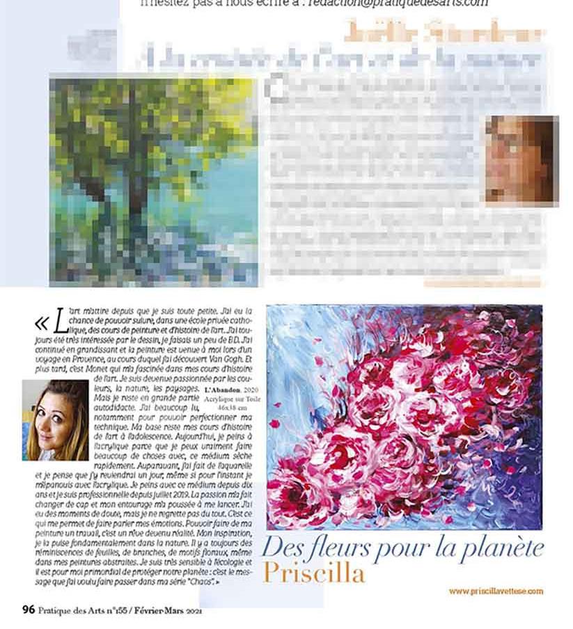 Magazine Pratique des Arts numéro 155