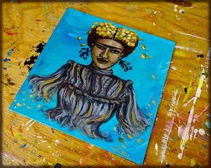 La célèbre Frida Kahlo a inspiré Priscilla par son parcours de vie - Proud Frida