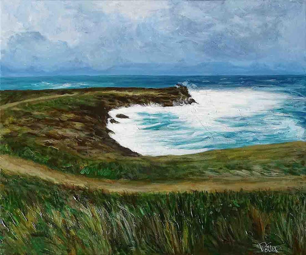 peinture paysage contemporain