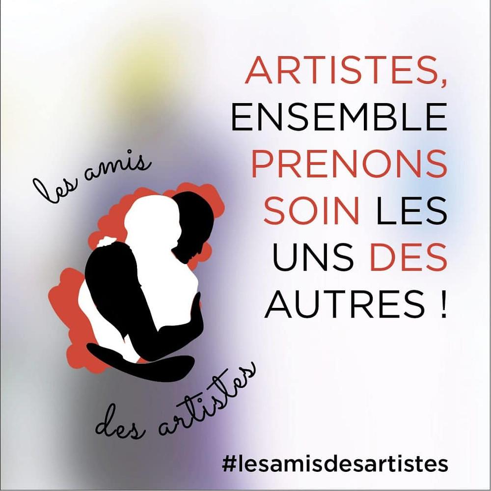 les amis des artistes, solidarité, covid 19, virus, confinement, art, vettese, bonne cause