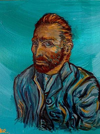 Portrait de Vincent Van Gogh (Mars 2021)