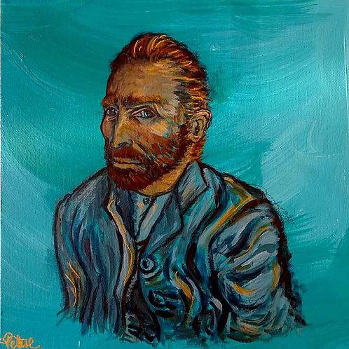peinture pop van gogh