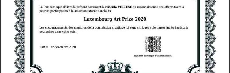 luxembourg art prize artist