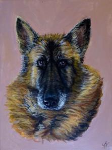 Tableau personnalisé chien Mai 2020