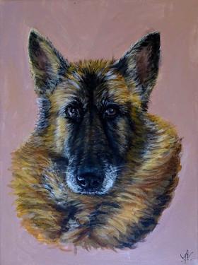 tableau personnalisé chien