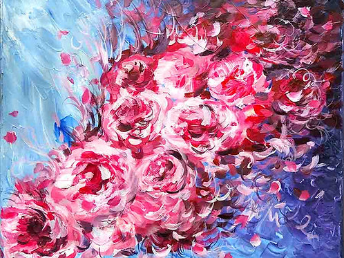 peinture-abstraite-pivoines