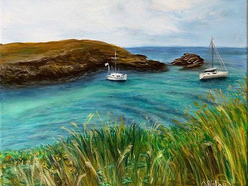 """Belle Ile en Mer 3"" landscape painting"