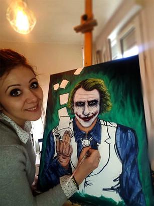 Un Joker en cours de création (Avril 2021)