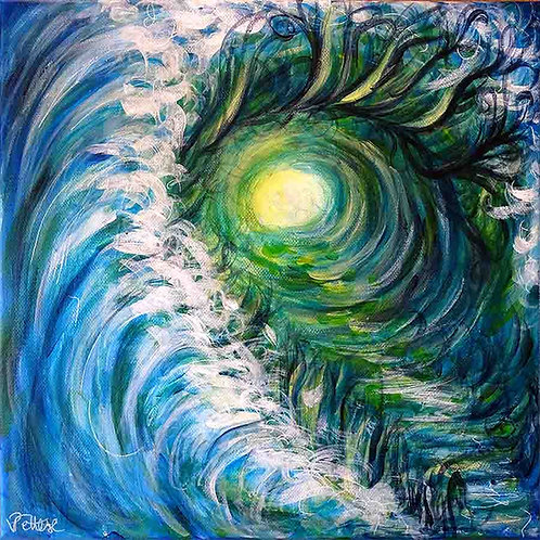 peinture-contemporaine-bleu