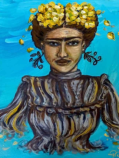 Peinture de Frida Kahlo