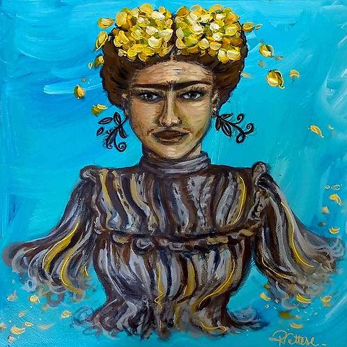 portrait peinture frida kahlo