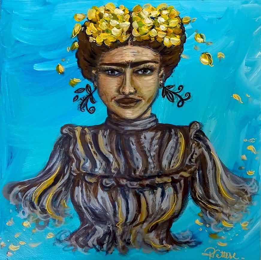 Tableau personnalisé Frida Kahlo