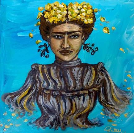 Une peinture pop culture - Proud Frida