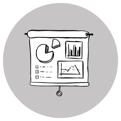 Hippos Health Services Icon - Research and Analytics