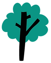 Hippos medium green tree icon