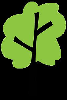 Hippos light green tree icon