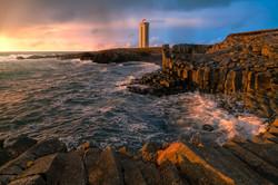 Lighthouse Kálfshamarsvík Web