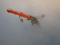 Crane Tip Fog