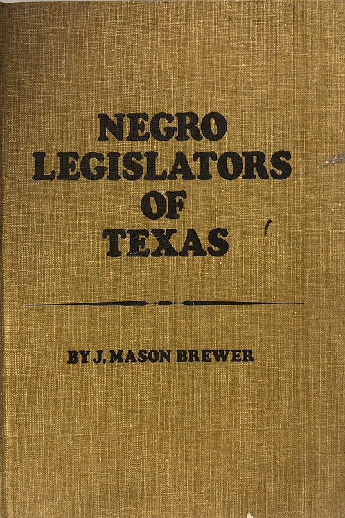 Negro Legislators of Texas