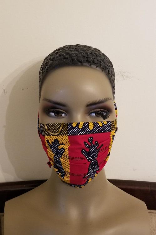 Kente Cloth Face Mask