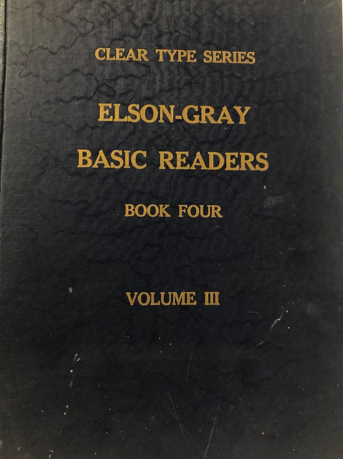 Elson-Gray Basic Readers: Book Four