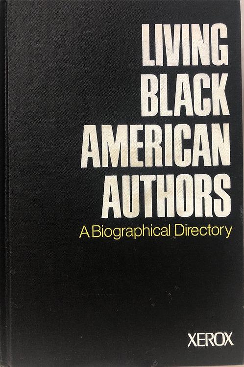 Living Black American Authors