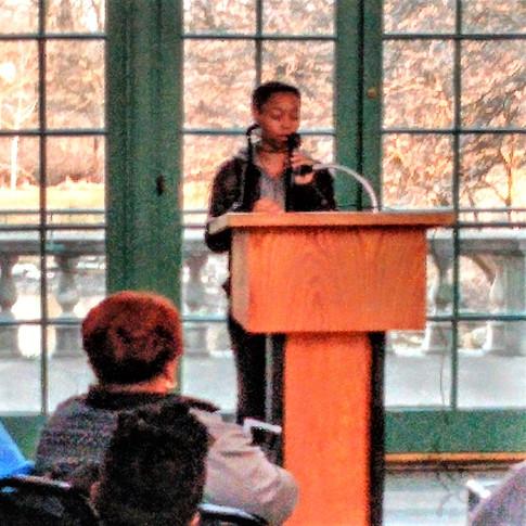 Zoe Nellum, Poet