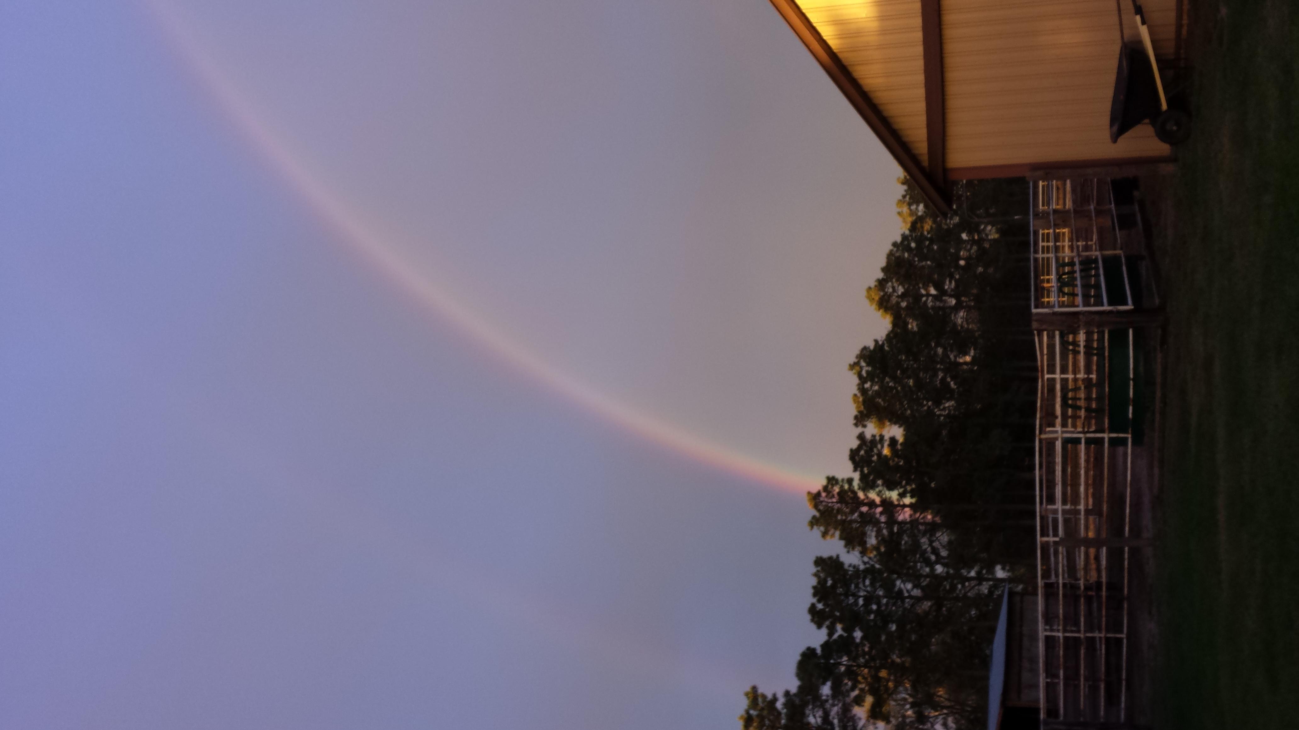 Lucky Rainbow over K-2