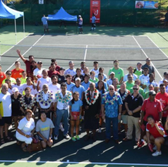 The inaugral Pacific Nations Cup at the Regional Tennis Centre, Lautoka in 2018