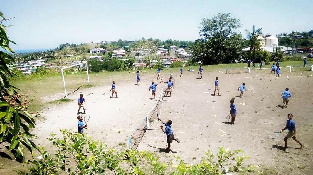 Gandhi Bawan school development program