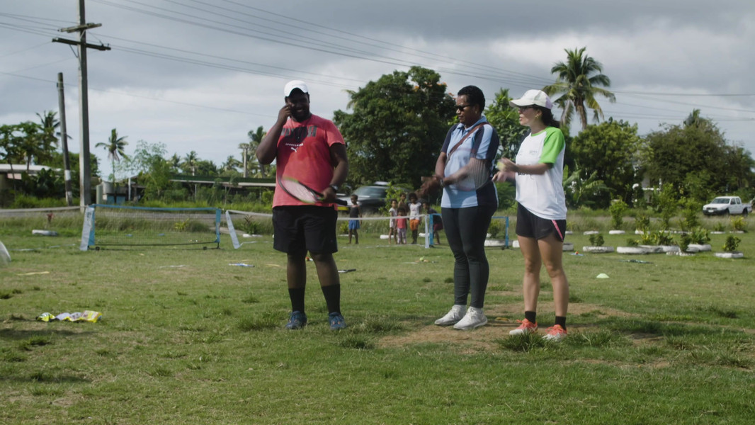 Women's leadership in tennis in Fiji
