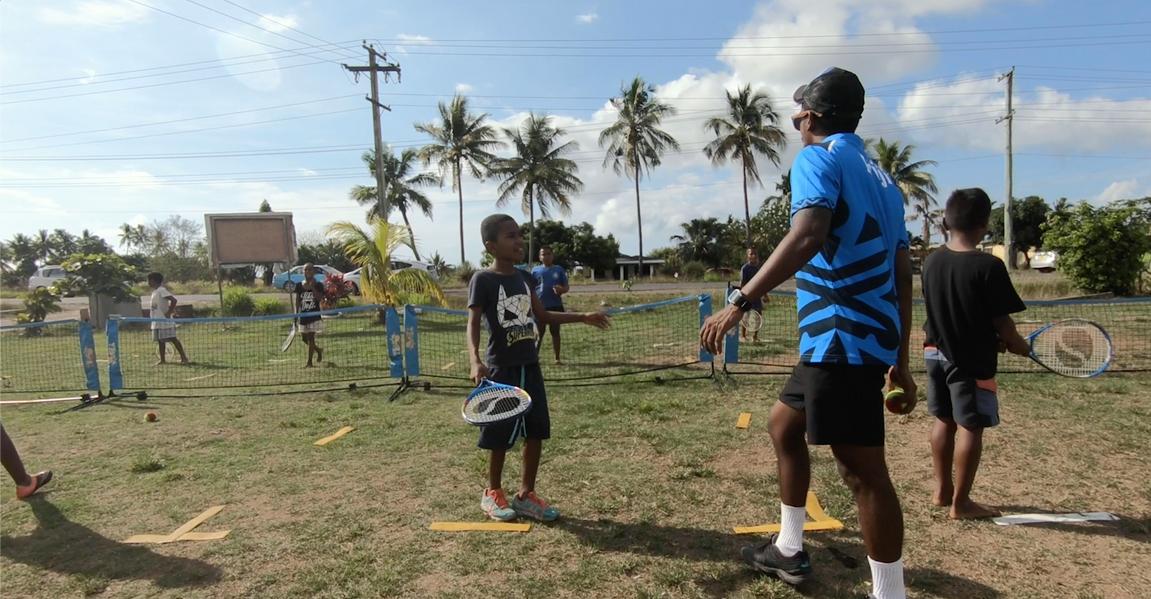 Tennis Outreach at Lovu HART