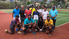 Social doubles competition held at Victoria Tennis & Squash Courts