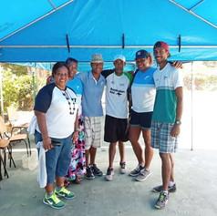 Tennis Fiji's tennis development team, December 2019