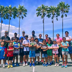 ITF Play Tennis Course 2020 participants and trainee coaches