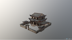 AncientChineseHouse