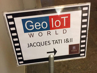 CROWDLOC founder speaking at Geo IoT World Brussels