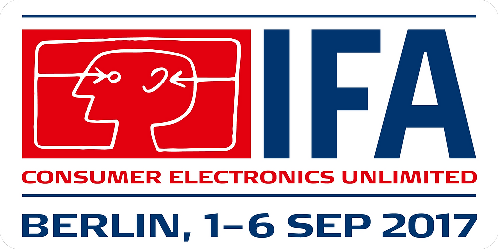 IFA Consumer Electronics Unlimited Berlin, 1-6 September 2017