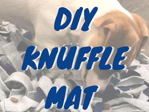 DIY KNUFFLE MAT