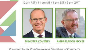 Canada-Ireland Strong: A Conversation with Minister Coveney and Ambassador McKee