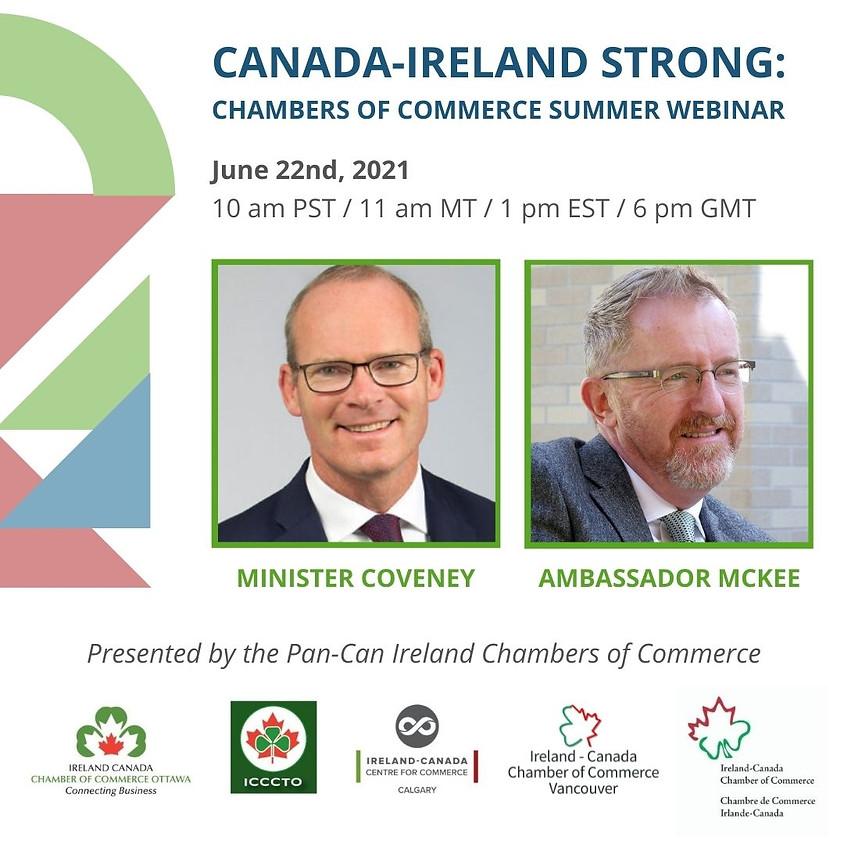 A Conversation With Minister Simon Coveney TD & Ambassador McKee