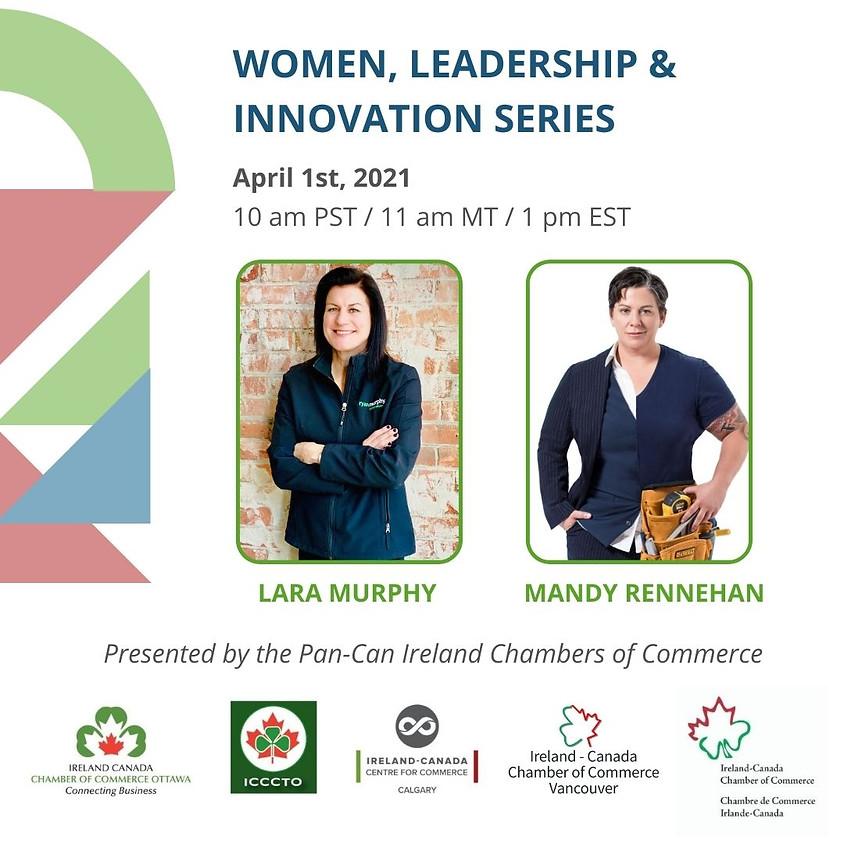 Women Leadership & Innovation Series: Spring Webinar
