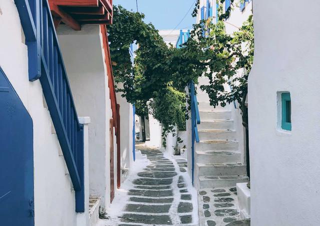 Mykonos town alleys, Mykonos