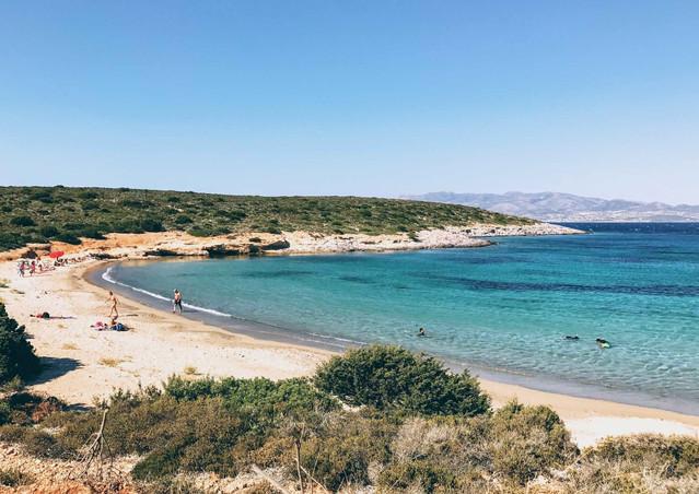 Panagia beach, Antiparos