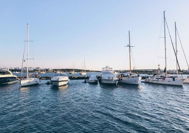 Sailing boats, Antiparos