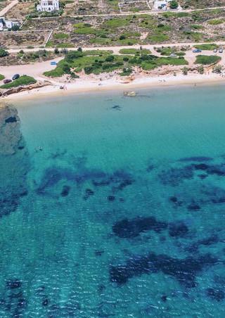 St George beach, Antiparos