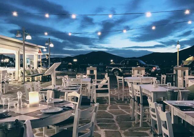 Barbarossa restaurant, Paros
