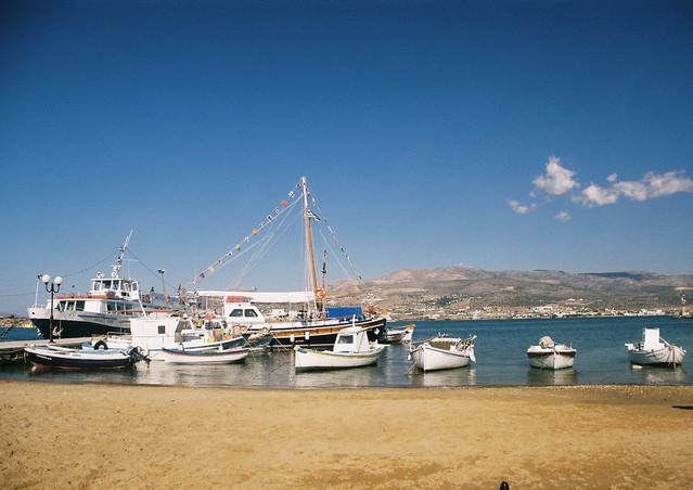 Antiparos town beach, Antiparos